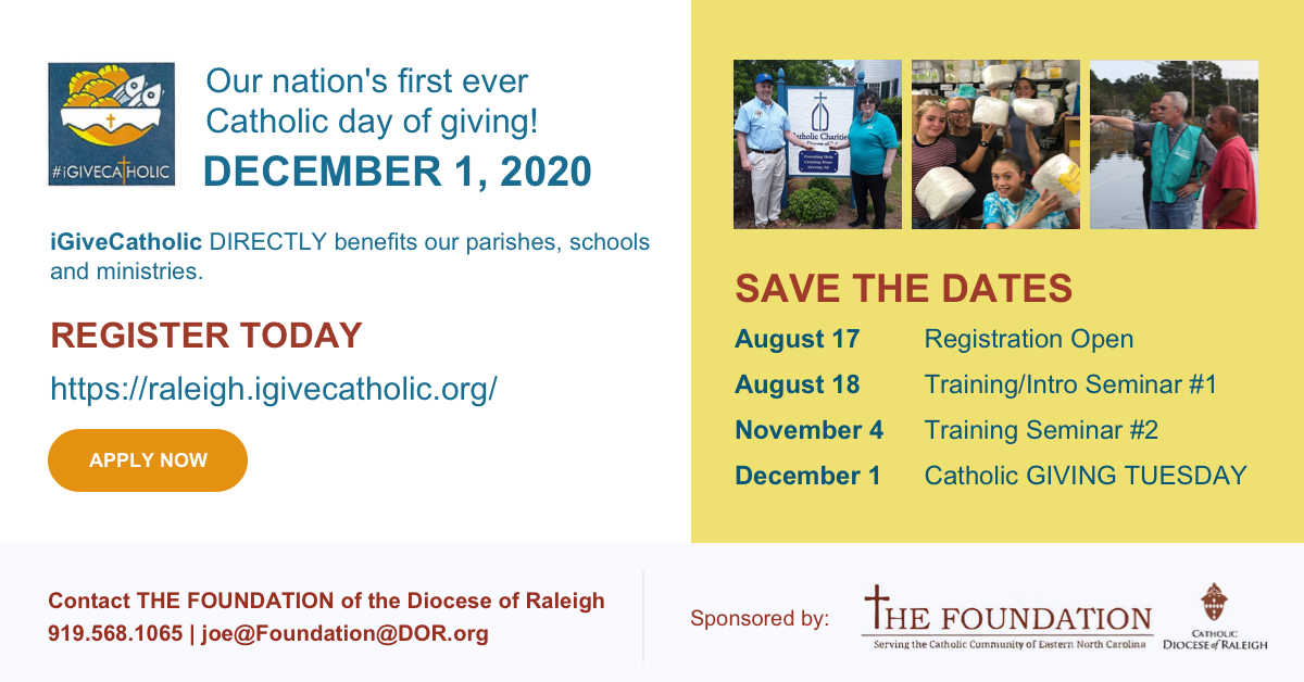 Catholic Day of Giving Campaign