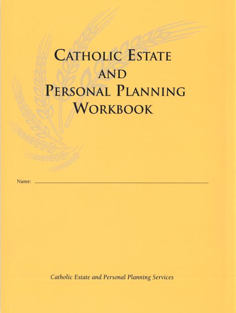 Personal Planning Workbook